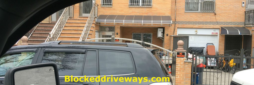 Blocked Driveway towing Queens NY